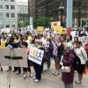 La Comunidad de Discapacitados protesta por Cortes Presupuestarios