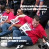 Manifestantes demandan Fin de Control Corporativo
