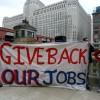 Familias de Chicago Hacen Llegar sus Propios Mensajes Sobre Empleo