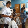 White Sox Sergio Santos Visits Youth in Little Village