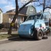 Street Sweeping Underway