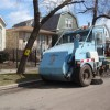 Street Sweeping Underway