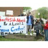 Protestors Rally to Reopen Trauma Center