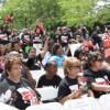 Manifestación de Padres de Chicago Pidiendo Escuelas de Calidad