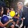 El Alcalde Emanuel Llama al Primer Día de Escuela en Octavio Paz de UNO