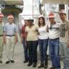 Estudiantes Brasileños Recorren la Planta de Reclamación de Agua Kirie
