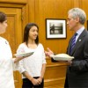 Emanuel Meets Aspiring Young Pastry Chef