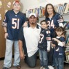 Chicago Bears Roberto Garza Meets with Berwyn Students