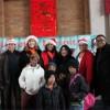 El Hospital Loretto Presenta su Visita Anual con Santa