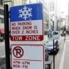 Regresa el Estacionamiento Prohibido Durante la Noche en Invierno