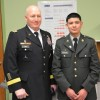 CPS Student Receives Award for Act of Courage by US Army General Cone