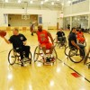 Cicero Firefighters play Chicago Fire in Wheelchair basketball game