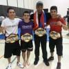 Los Luchadores Amateur MMA Siguen Campeones