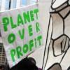 Manifestantes en Chicago 'No Fracking'