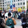 Chicago Protesters 'No Fracking'