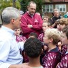 Emanuel Visits Construction Site of Future Chicago Plays! Playground
