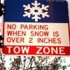 La Prohibición de Estacionamiento Nocturno en Chicago Entra en Efecto este Invierno