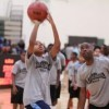 Hundreds of Students Participate in Free Nike Basketball Clinic