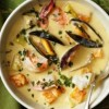 Peruvian Seafood Chowder