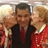 Sandoval Spreads Love on Valentine's Day