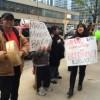 Representantes de LULAC del Condado de Lake Protestan Contra Herbalife