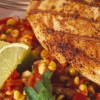 Spiced Chicken with Corn Salsa