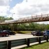Emanuel, Durbin, Burns Celebrate Work on 35th Street Pedestrian Bridge