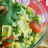 Corn Salad with Tomatoes and Avocado