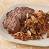 Beef Medallions with Kasha Pilaf
