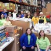 Marquette Bank Employees Assemble Gift Packages for Children in Need
