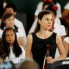 Merit School Students Bing Stringtacular to Benito Juarez Academy