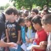 NASCAR Xfinity Series Driver Daniel Suarez Visits Elementary Students