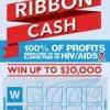 La Lotería de Illinois Lanza el Más Reciente Juego Instantáneo de Prevención de HIV/SIDA  'Red Ribbon Cash' que recauda millones para el estado