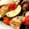 Greek Island Chicken Shish Kebabs