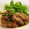 Pork medallions with five-spice powder