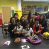 UCSN Garcia Brings Gifts to UCSN Paz Elementary Students