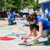 BMO Employee Volunteers Beautify Herzl School of Excellence