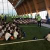 Los Chicago Bears Comparten Cancha con los Chicos de La Comunidad