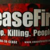 Cese el Fuego 'Mantengan la Paz'