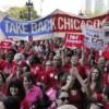 Desfile del Labor Day del Sindicato de Maestros de Chicago
