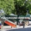 El Distrito de Parques de Chicago Devela Campo de Juego con Temática Musical en Douglas Park