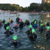 Swimmers Prep for Chicago Triathlon