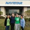 Navistar International Patrocina el Equipo Robótico de Queen of Peace