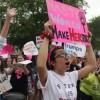 Las Mujeres de Illinois Marchan en Springfield