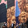 City Officials Unveil Monumental Kerry James Marshall Mural