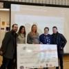 La Escuela Media Heritage Usa una Donación Filantrópica para El Equipo de Robótica VEX