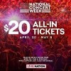 Live Nation Launches 'National Concert Week'