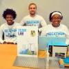 El Equipo de King College Prep Gana el Primer Lugar en el Ideathon de ComEd