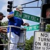 Legendary DJ Receives Honorary Street Sign