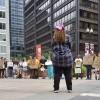 Familias y Activistas Realizan una Huelga en la Prisión